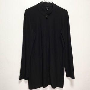Eileen Fisher Black Lightweight Jacket w/ Pockets